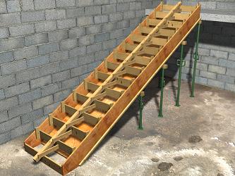 Precio en colombia de m de sistema de encofrado para losa for Encofrado de escaleras de concreto